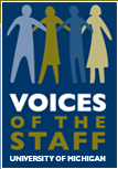 VOICES of the Staff logo